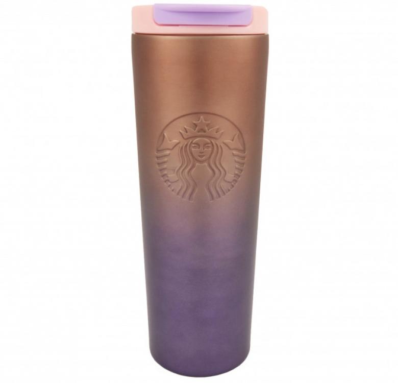 Фото - Термокружка хамелеон матовая Starbucks тамблер 473мл купить в киеве на подарок, цена, отзывы