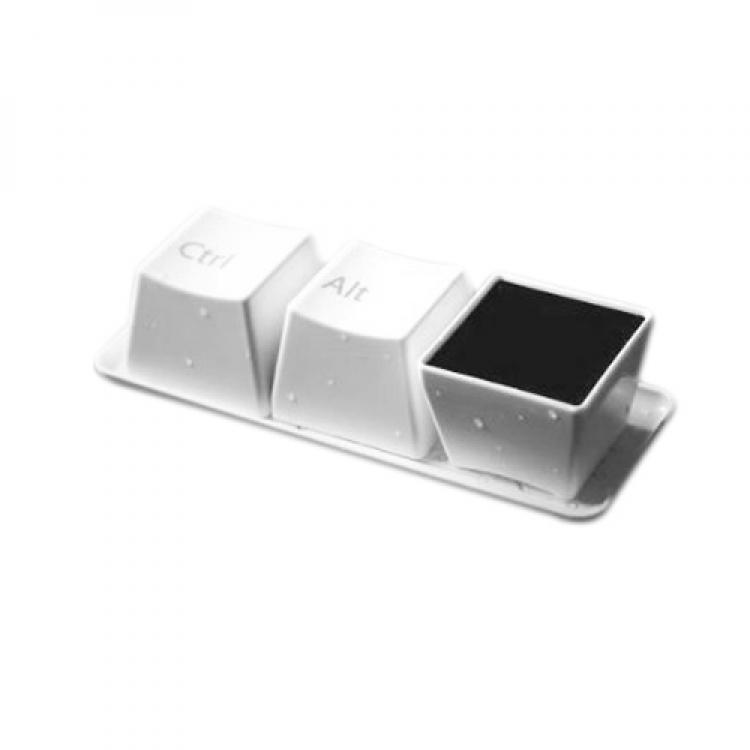 Фото - Оригинальные чашки кнопки Ctrl Alt Del white купить в киеве на подарок, цена, отзывы