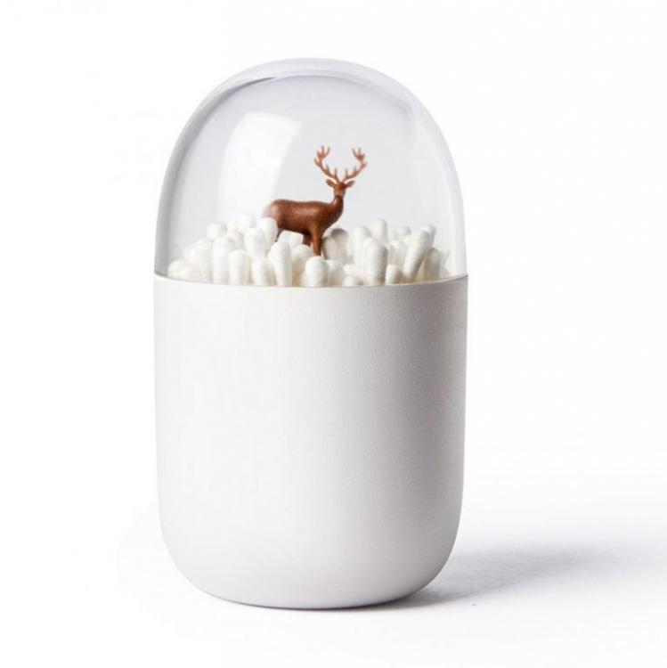 Фото - Контейнер для ватных палочек Олененок купить в киеве на подарок, цена, отзывы