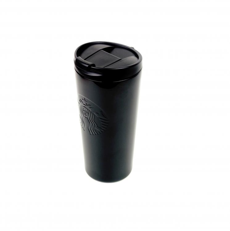 Фото - Термокружка хамелеон матовая Starbucks тамблер Black 473мл купить в киеве на подарок, цена, отзывы
