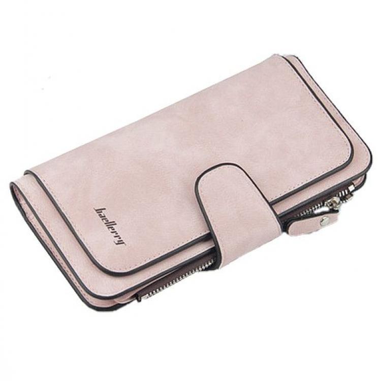 Фото - Женское портмоне Baellerry Forever (Розовое) купить в киеве на подарок, цена, отзывы