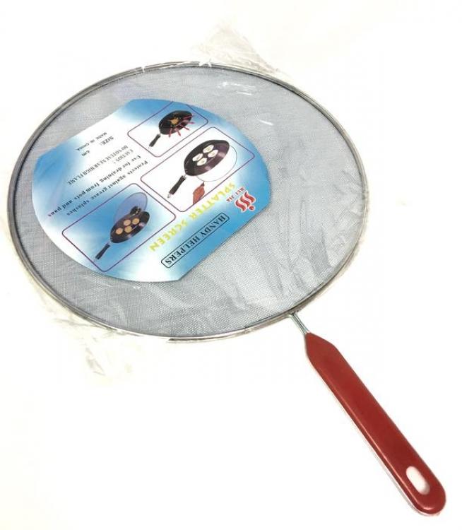 Фото - Защитная крышка сетка от разбрызгивания купить в киеве на подарок, цена, отзывы