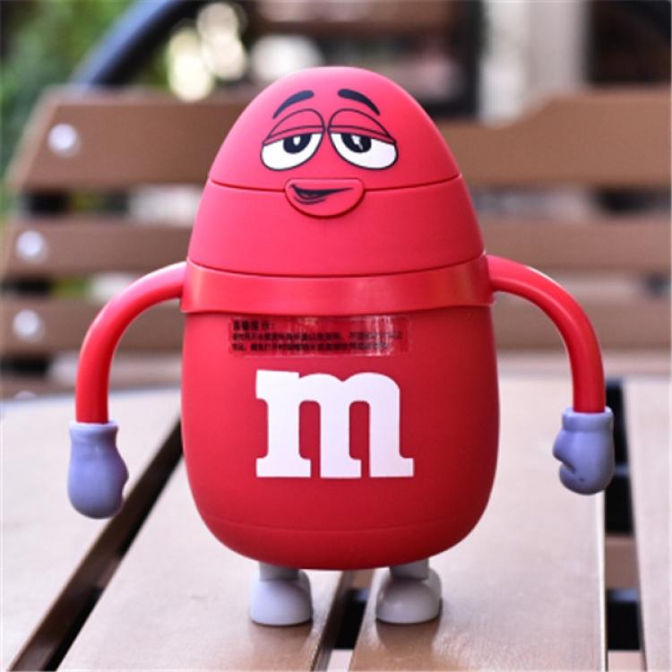 Фото - Термос детский с трубочкой M&Ms (Красный) купить в киеве на подарок, цена, отзывы