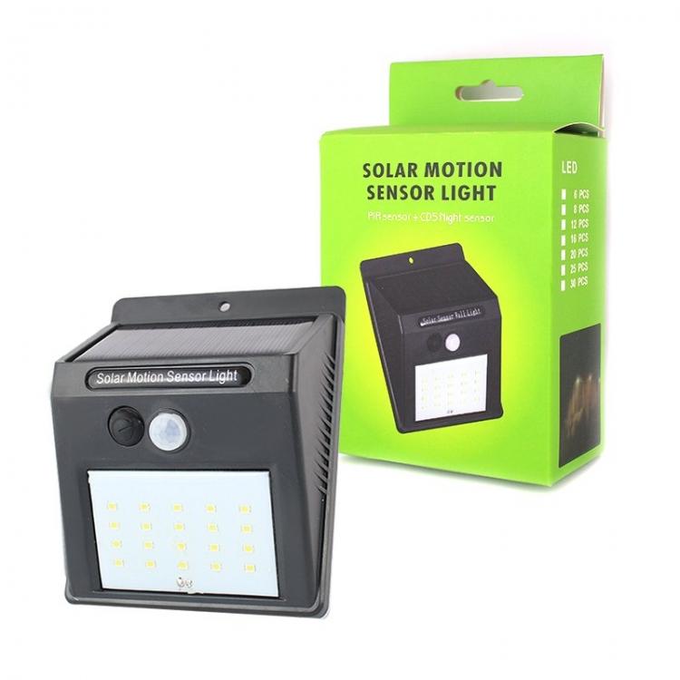 Фото - Настенный уличный светильник Solar Motion Sensor Light купить в киеве на подарок, цена, отзывы