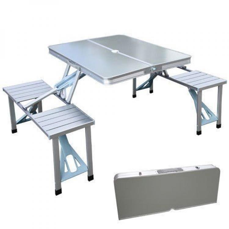 Фото - Складной алюминиевый стол для пикника  купить в киеве на подарок, цена, отзывы