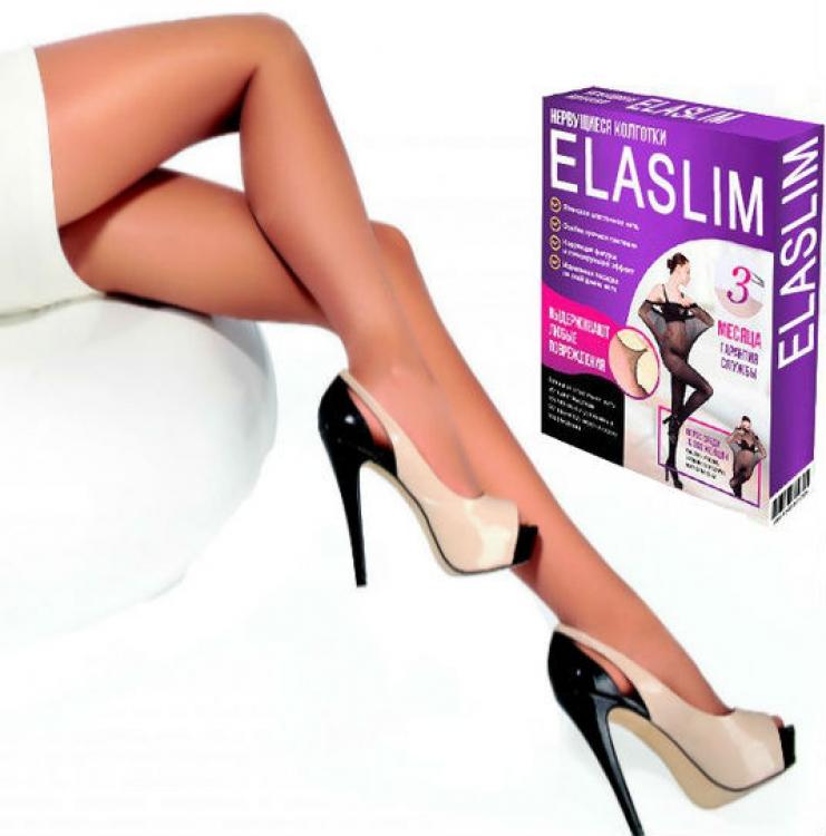 Фото - Женские не рвущиеся колготки ElaSlim 3 (Бежевый) купить в киеве на подарок, цена, отзывы