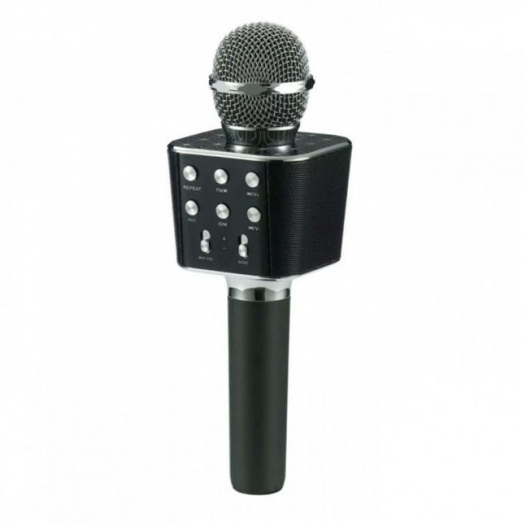 Фото - Караоке Микрофон WS-1688 Black  купить в киеве на подарок, цена, отзывы