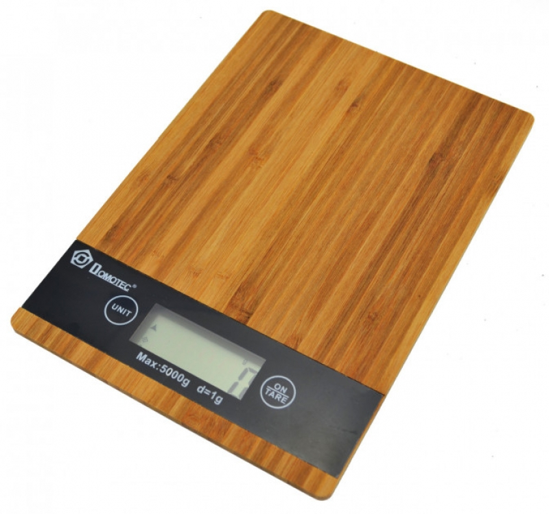 Фото - Кухонные электронные деревянные весы до 5 кг купить в киеве на подарок, цена, отзывы