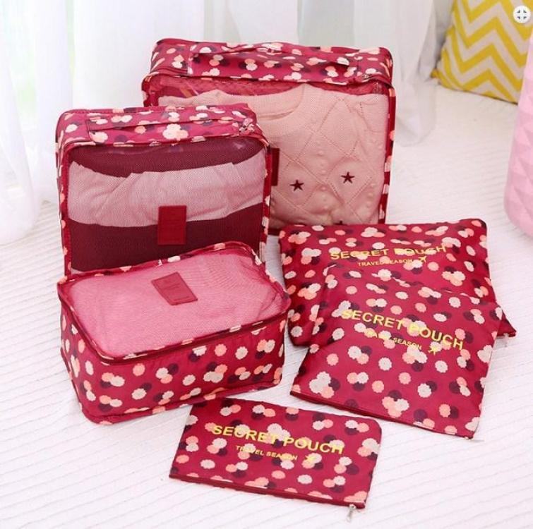 Фото - Набор Органайзеров 3+3 (Бордовый) купить в киеве на подарок, цена, отзывы