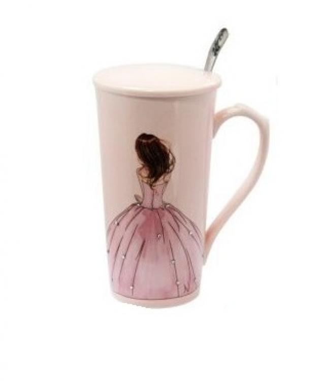 Фото - Чашка керамическая Принцесса купить в киеве на подарок, цена, отзывы