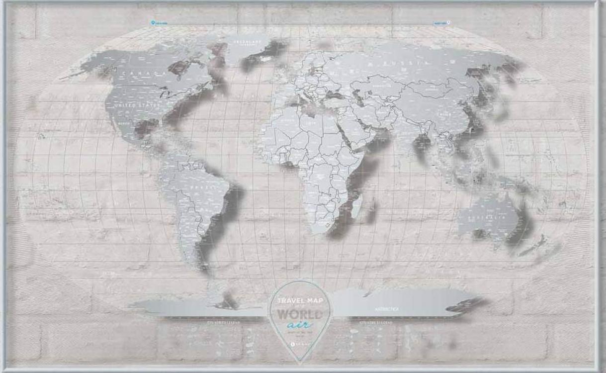 Фото - Скретч Карта Мира AIR World купить в киеве на подарок, цена, отзывы