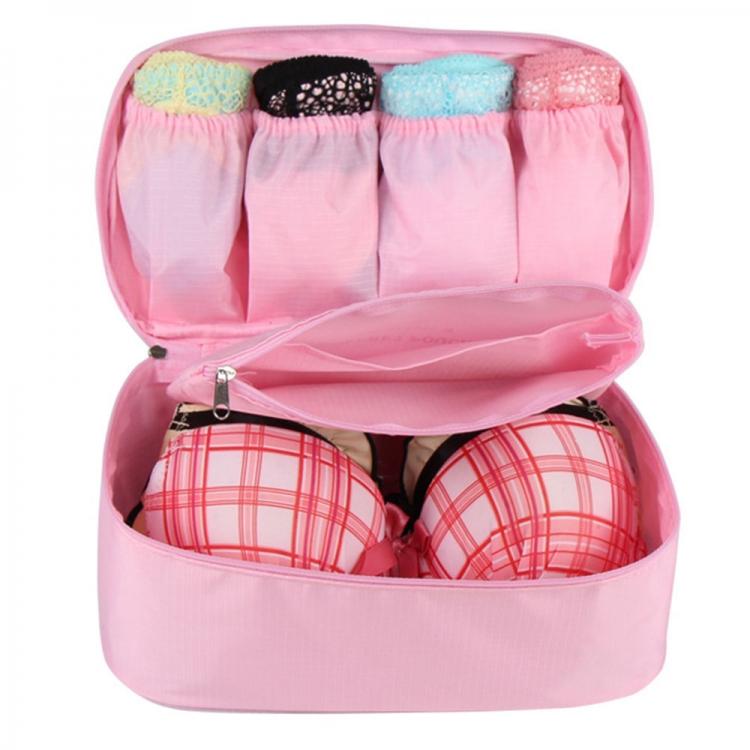 Фото - Органайзер для белья дорожный Monopoly Light Pink купить в киеве на подарок, цена, отзывы