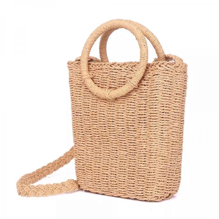 Фото - Плетеная сумка Sensi в виде корзины купить в киеве на подарок, цена, отзывы