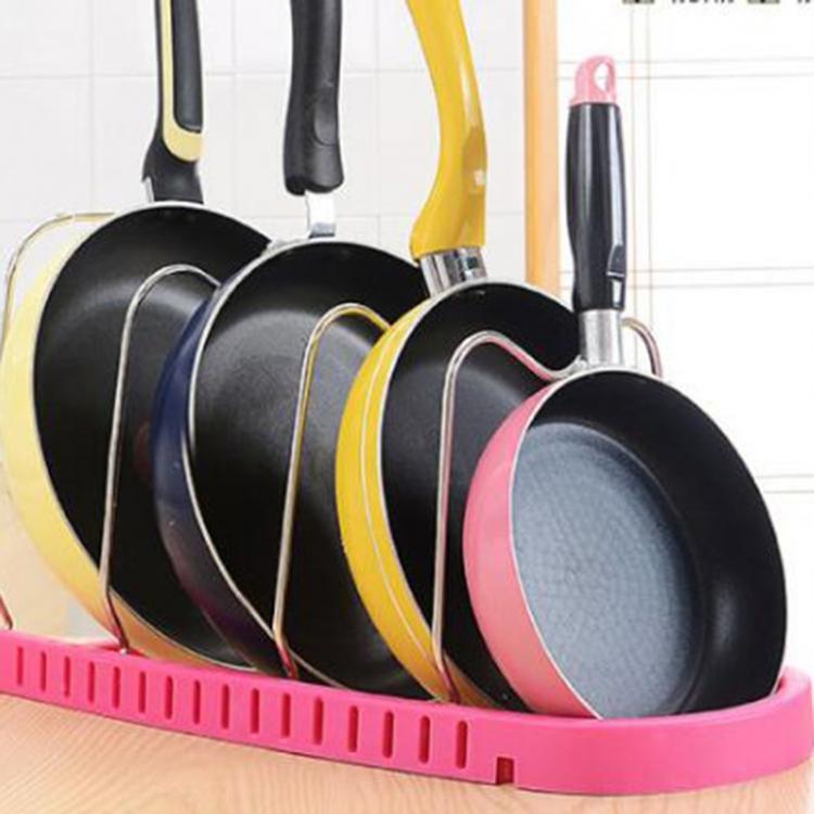 Фото - Подставка для сковородок, крышек, тарелок, кастрюль (Розовый) купить в киеве на подарок, цена, отзывы