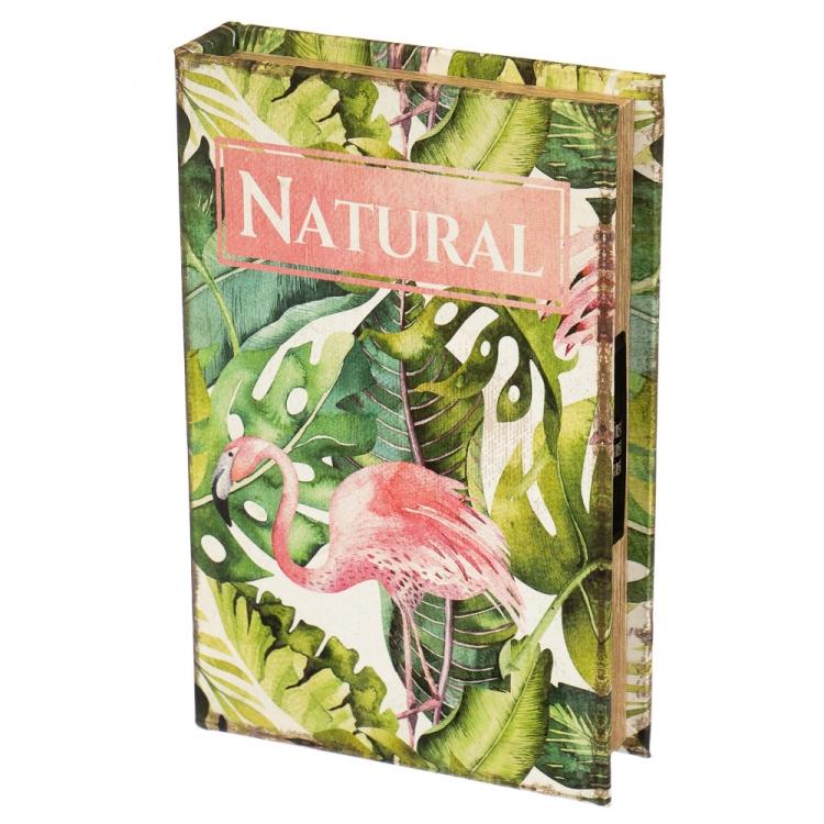 Фото - Книги сейф с кодовым замком Natural 26 см купить в киеве на подарок, цена, отзывы