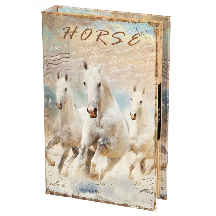 Фото - Книги сейф с кодовым замком Horse 26 см купить в киеве на подарок, цена, отзывы