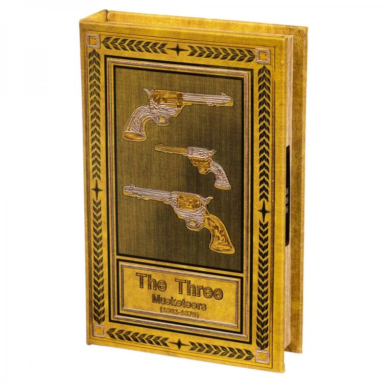 Фото - Книги сейф с кодовым замком The Three Musketeers 26 см купить в киеве на подарок, цена, отзывы