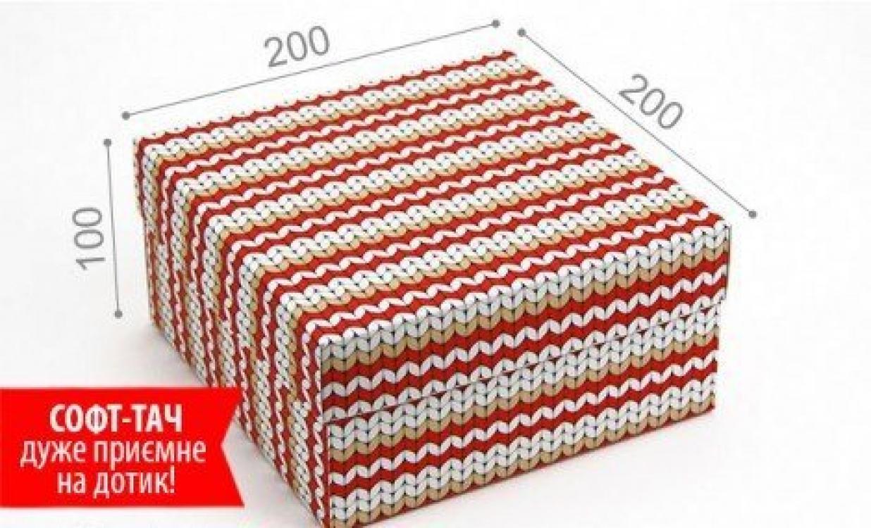 Фото - Подарочная коробка Вязка Красная 20х20х10 см купить в киеве на подарок, цена, отзывы