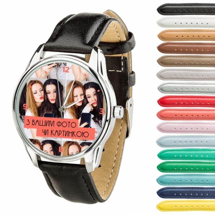 Фото - Часы с вашим дизайном/ фото купить в киеве на подарок, цена, отзывы