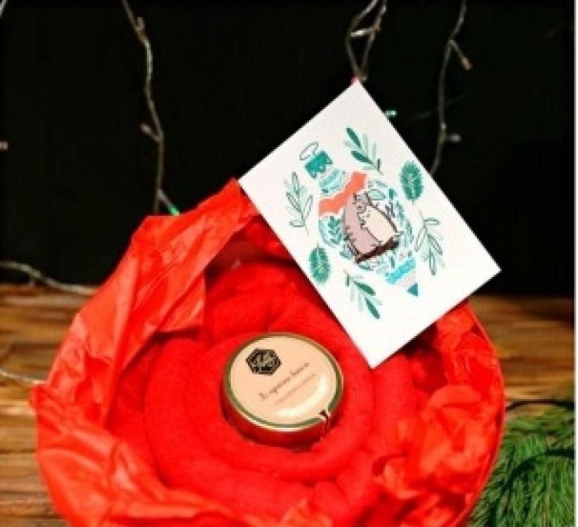 Фото - Подарочный набор Теплое настроение  купить в киеве на подарок, цена, отзывы