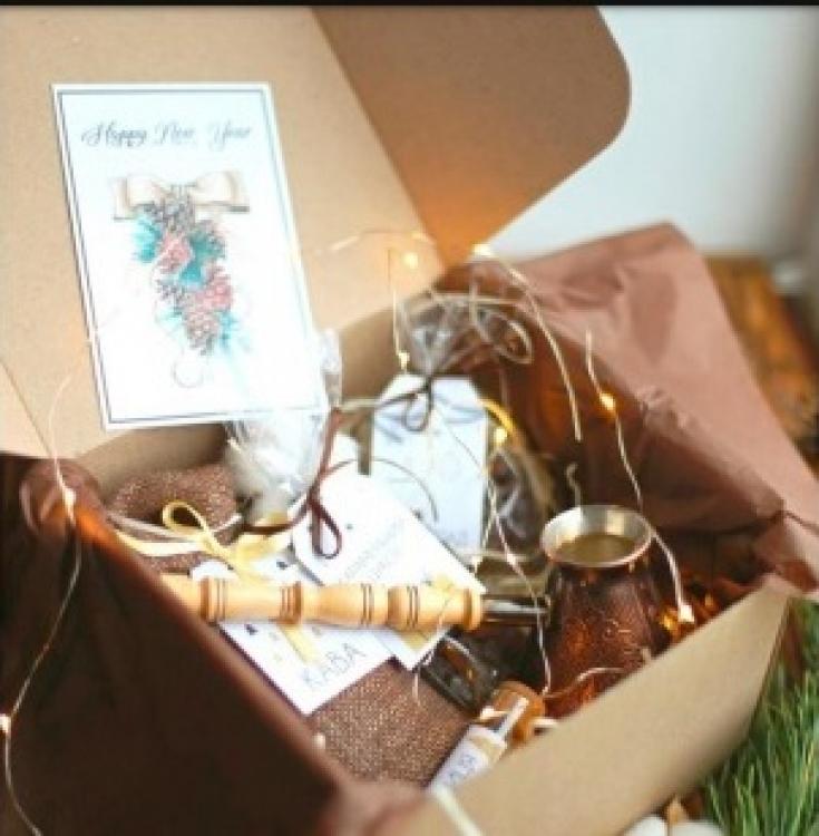 Фото - Подарочный набор Кофе тайм купить в киеве на подарок, цена, отзывы
