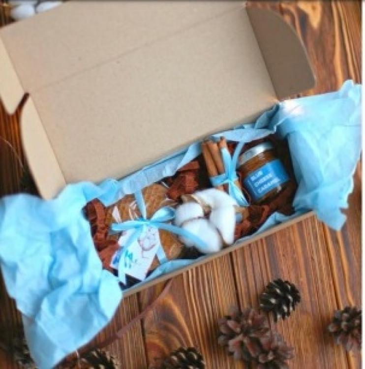 Фото - Подарочный набор Новогодняя карамель купить в киеве на подарок, цена, отзывы