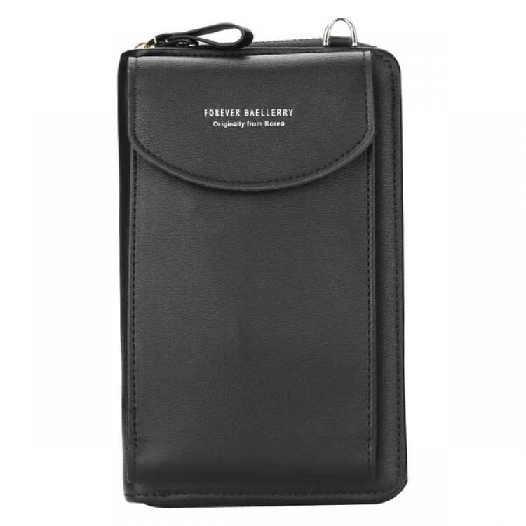 Фото - Кошелёк женский, мини-сумочка на плечо Baellerry 3 в 1 (черный) купить в киеве на подарок, цена, отзывы