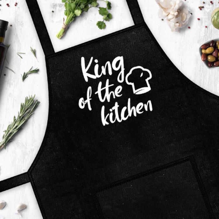 Фото - Фартук  King of the kitchen купить в киеве на подарок, цена, отзывы