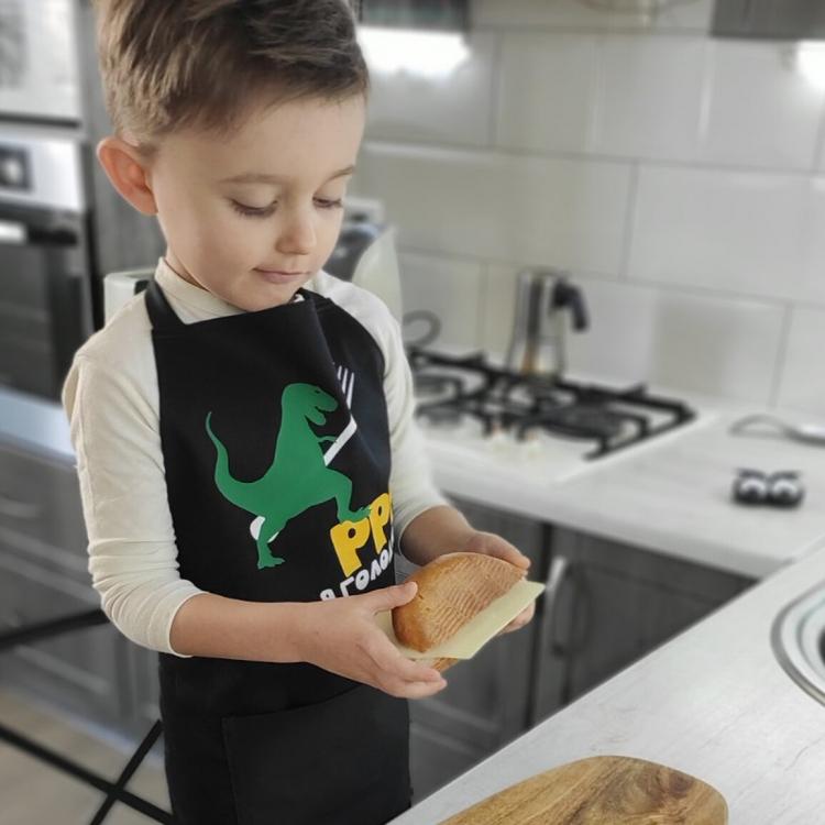 Фото - Фартук детский, подростковый Динозавр купить в киеве на подарок, цена, отзывы