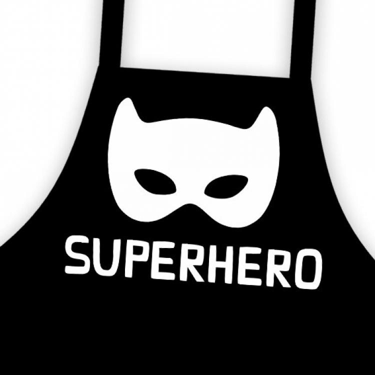 Фото - Фартук детский, подростковый Супергерой купить в киеве на подарок, цена, отзывы