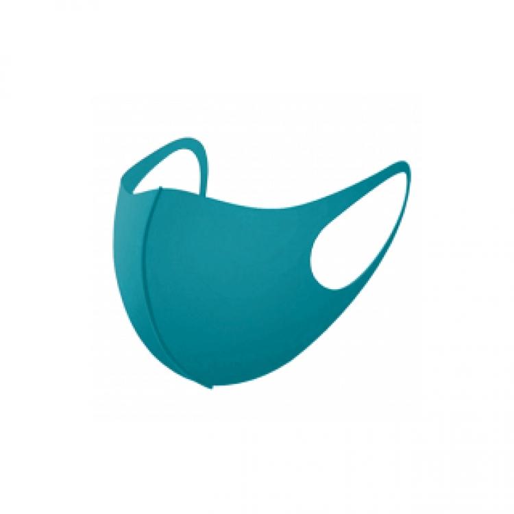 Фото - Защитная маска для лица трехслойная (Голубая) купить в киеве на подарок, цена, отзывы