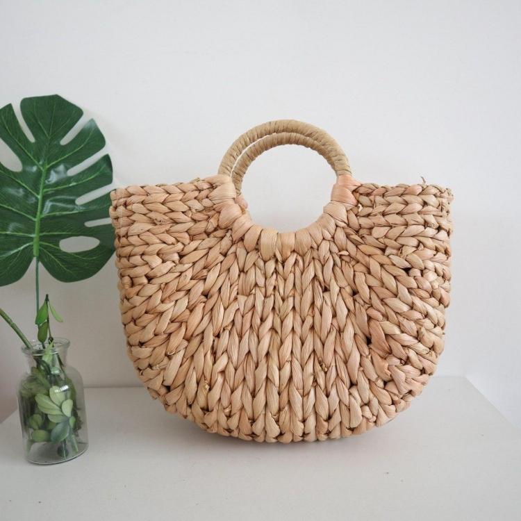 Фото - Соломенная сумка с ручками Luxury Small купить в киеве на подарок, цена, отзывы