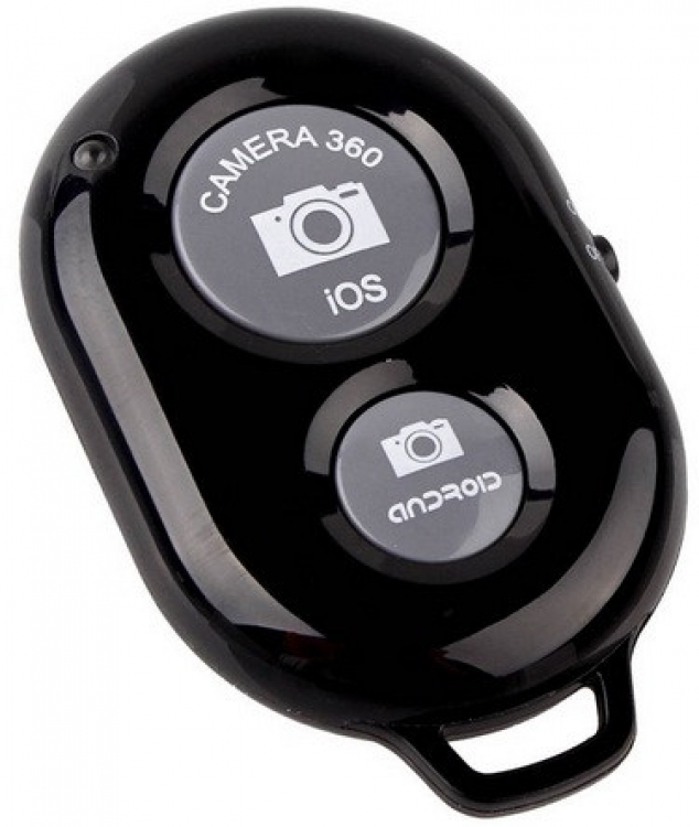 Фото - Bluetooth пульт для телефона, селфи-палки, штатива купить в киеве на подарок, цена, отзывы