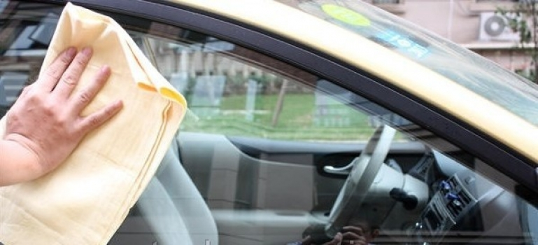 Фото - Прорезиненные тряпочки для мытья  машины купить в киеве на подарок, цена, отзывы