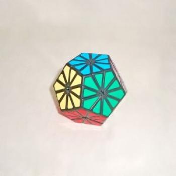 Фото - Кубик рубика Пираминкс Кристалл (Ромашка) купить в киеве на подарок, цена, отзывы