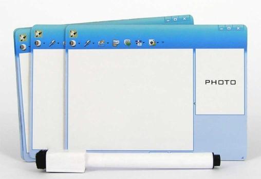 Фото - Dialog box - набор магнитных рамок на холодильник купить в киеве на подарок, цена, отзывы