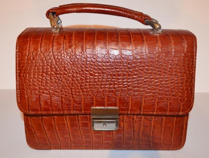 Фото - Оригинальная мужская барсетка из натуральной кожи 1 купить в киеве на подарок, цена, отзывы