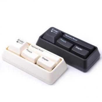 Фото - Канцелярский набор стилизованый под клавуатуру купить в киеве на подарок, цена, отзывы