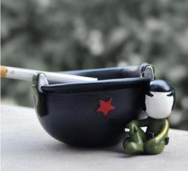 Фото - Пепельница каска купить в киеве на подарок, цена, отзывы