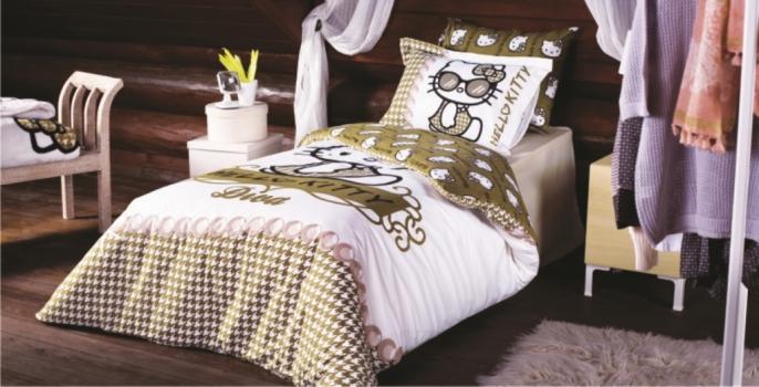 Фото - Детский набор постельного белья Hello Kitty Дива купить в киеве на подарок, цена, отзывы