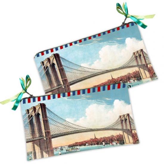 Фото - Косметичка-кошелек Мост купить в киеве на подарок, цена, отзывы