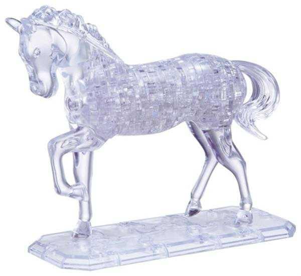 Фото - 3D пазл лошадь купить в киеве на подарок, цена, отзывы