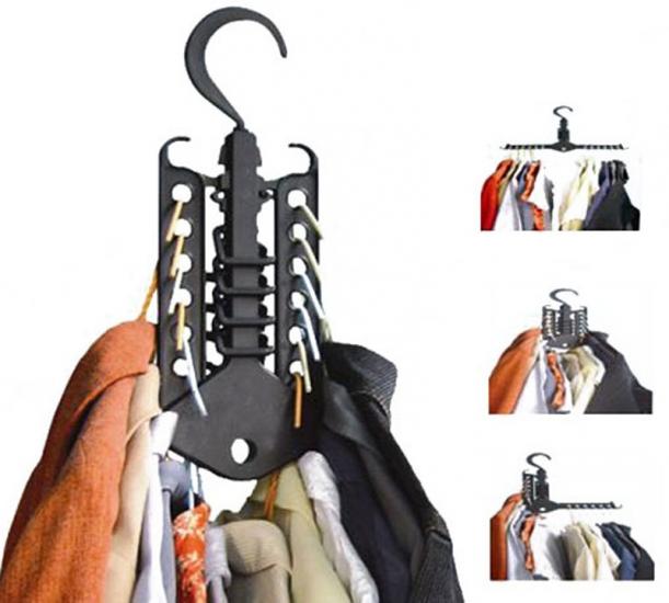 Фото - Многофункциональная вешалка-органайзер Magic hanger купить в киеве на подарок, цена, отзывы