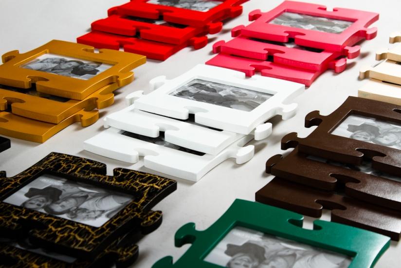 Фото - Фоторамки-пазлы (цвета в ассортименте) купить в киеве на подарок, цена, отзывы