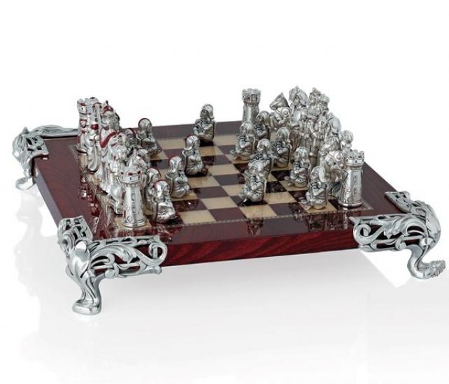 Фото - Шахматы LIN.ARGENTI купить в киеве на подарок, цена, отзывы