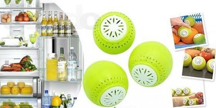 Фото - Поглотитель запахов для холодильника Fridge Balls (Фридж Болс) купить в киеве на подарок, цена, отзывы