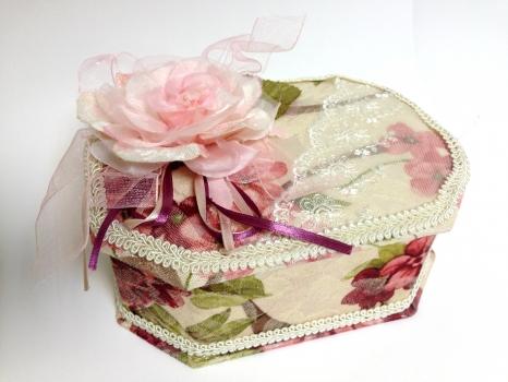 Фото - Шкатулка тканевая V-499 купить в киеве на подарок, цена, отзывы