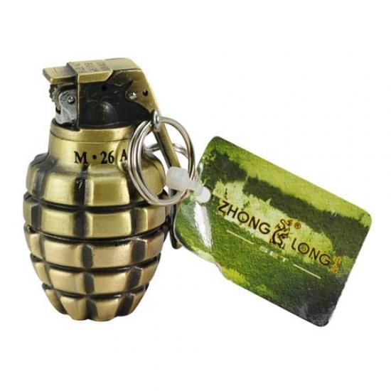 Фото - Зажигалка граната long купить в киеве на подарок, цена, отзывы