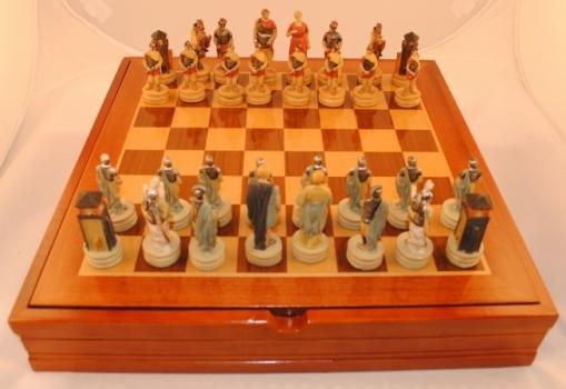 Фото - Шахматы Древний Рим купить в киеве на подарок, цена, отзывы