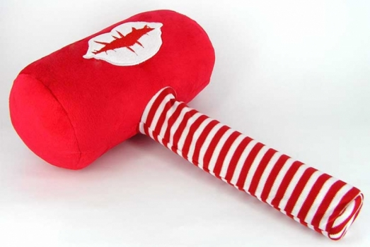 Фото - Плюшевый молоточек KISS купить в киеве на подарок, цена, отзывы